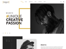 Creative studio HTML template