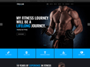 Fitness club Bootstrap template