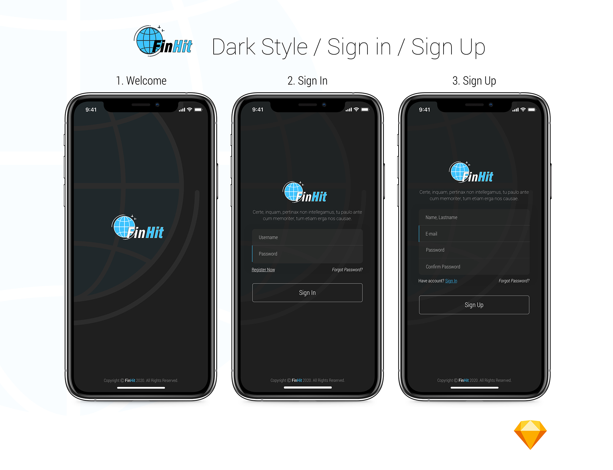 FinHit - Wallet & Banking UI Kit for iOS & Android - 4