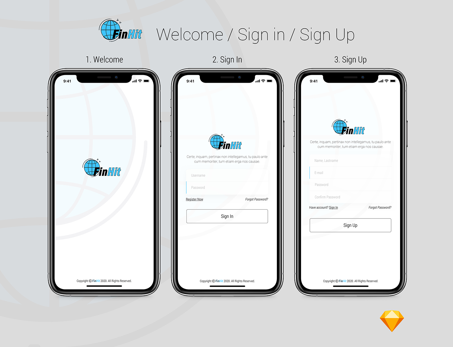 FinHit - Wallet & Banking UI Kit for iOS & Android - 3