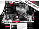 BW Radio Wordpress template